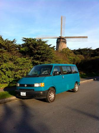 1993 VW Eurovan left front