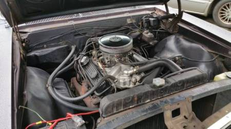 1967 Chevrolet Chevelle engine