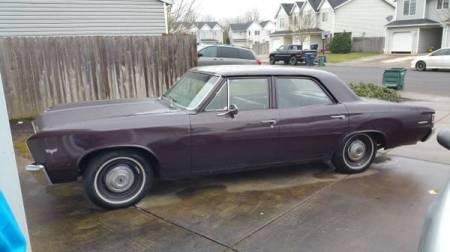 1967 Chevrolet Chevelle left front