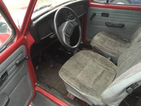 1971 VW Beetle Mexico interior