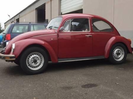 1971 VW Beetle Mexico left front