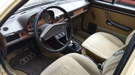 1977 Audi Fox interior
