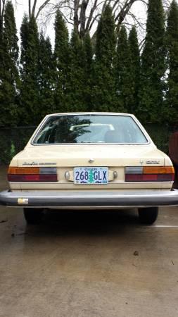 1977 Audi Fox rear