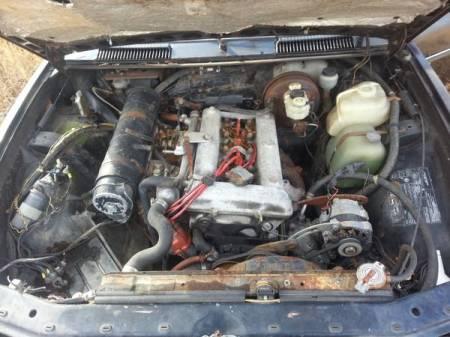 1978 Alfa Romeo Alfetta Berlina 2 engine