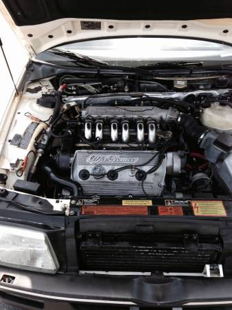 1991 Alfa Romeo 164S engine