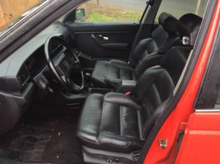 1991 Peugeot 405 Mi16 interior