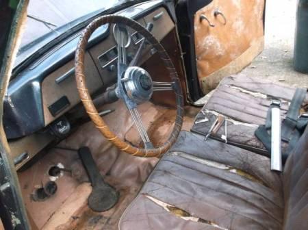 1954 Austin A40 Somerset 2 interior