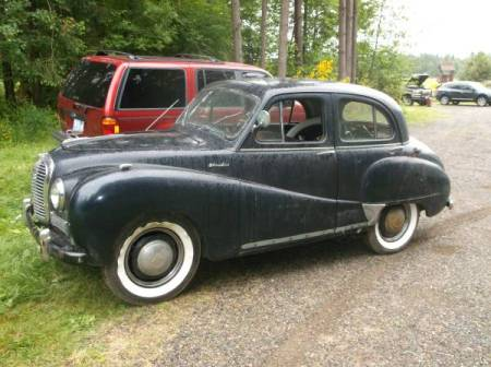 1954 Austin A40 Somerset 2 left front