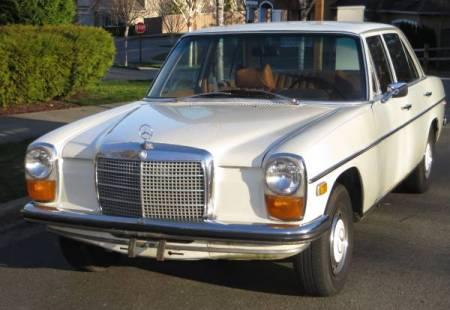 1969 Mercedes 230 left front