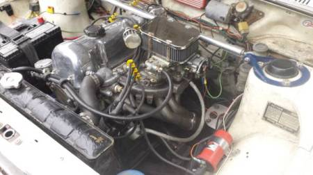 1971 Datsun 510 wagon engine