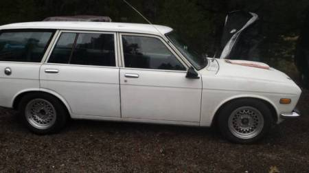 1971 Datsun 510 wagon right side