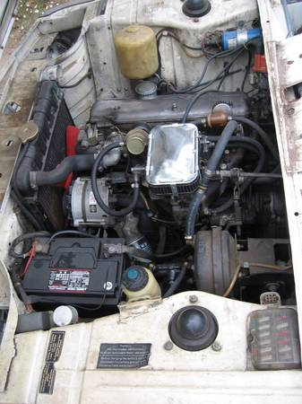 1973 BMW 2002 Auto engine