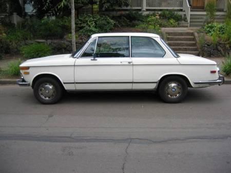 1973 BMW 2002 Auto left side