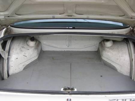 1973 BMW 2002 Auto trunk