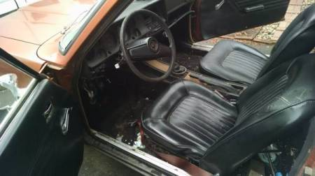 1973 Mercury Capri interior