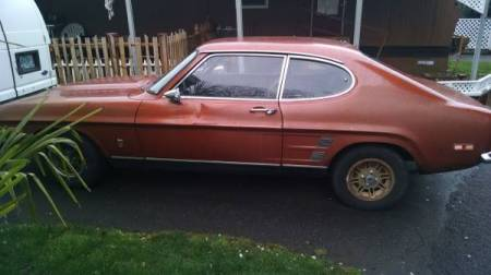 1973 Mercury Capri left side