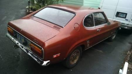1973 Mercury Capri right rear