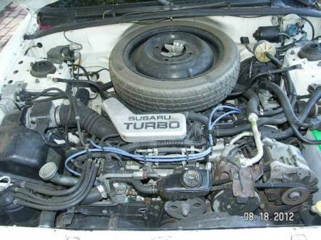 1983 Subaru GL Turbo wagon engine