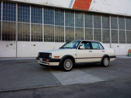 1992 Volkswagen Jetta GLI left front