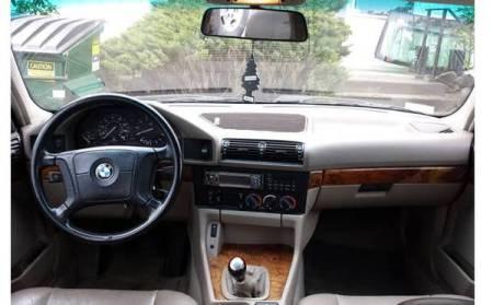 1994 BMW 530i interior