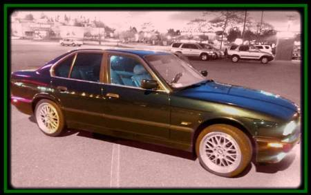 1994 BMW 530i right front