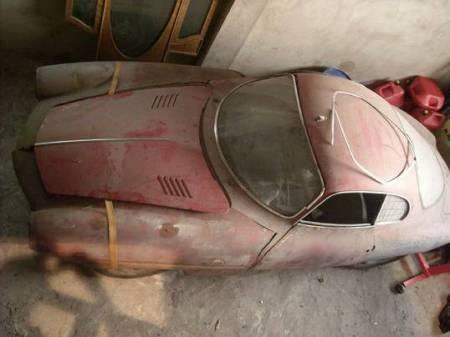 1964 Alfa Romeo Giulia SS above