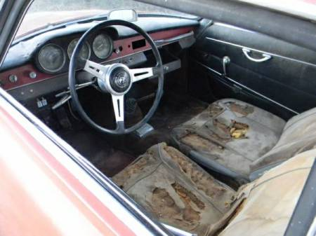 1964 Alfa Romeo Giulia SS interior
