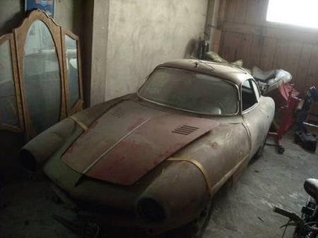 1964 Alfa Romeo Giulia SS left front
