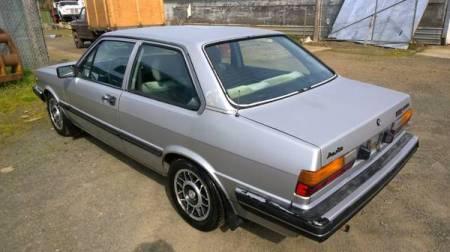 1981 Audi 4000 5+5 left rear
