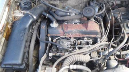 1982 VW Rabbit Pickup engine