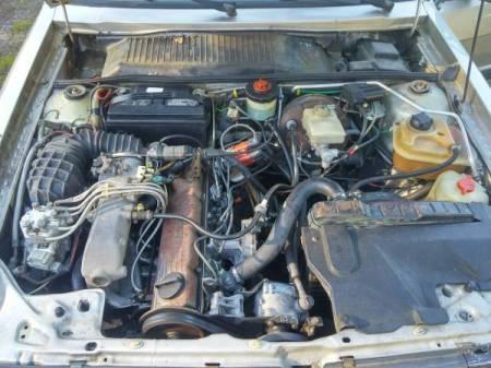 1984 Audi 4000S engine
