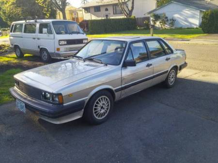 1984 Audi 4000S left front