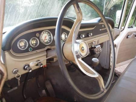 1968 International 1200 Deluxe interior