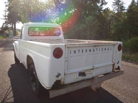 1968 International 1200 Deluxe left rear