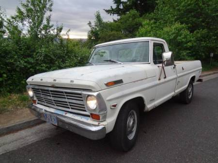 1969 Ford F250 left front