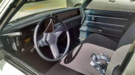 1983 Chevrolet Malibu interior