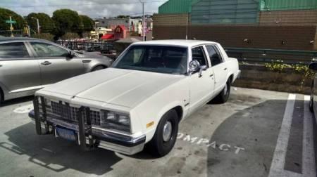 1983 Chevrolet Malibu left front