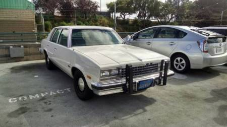 1983 Chevrolet Malibu right front