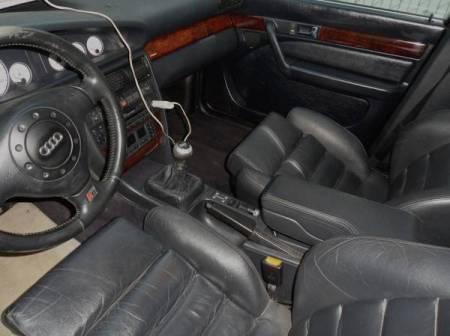 1995 Audi S6 interior