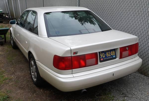 Great Grandfather 1995 Audi S6 Rusty But Trusty