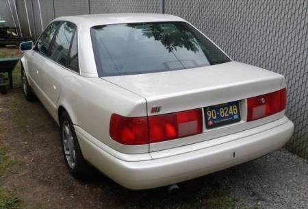 1995 Audi S6 left rear