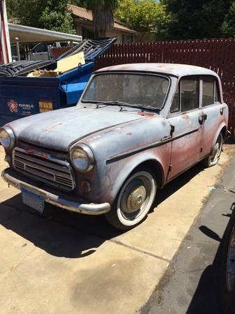 1959 Datsun 1000 left front