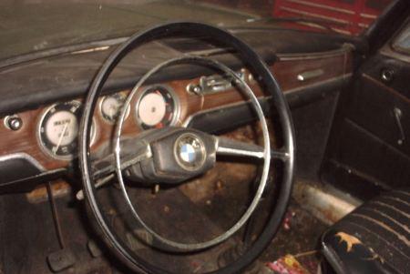 1965 BMW 1800 dash