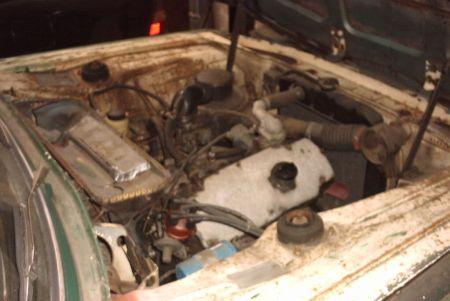1965 BMW 1800 engine