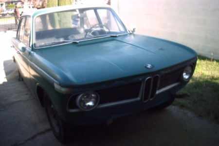 1965 BMW 1800 right front