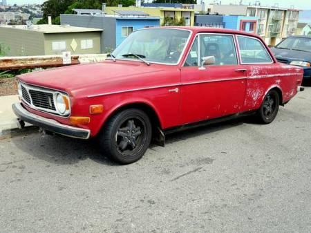 1970 Volvo 142S left front