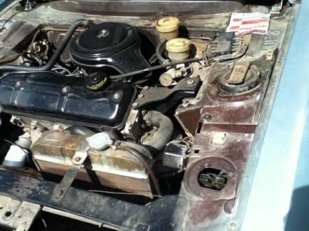 1971 Peugeot 304 engine