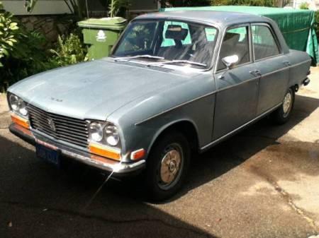 1971 Peugeot 304 left front