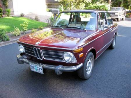 1973 BMW 2002 left front