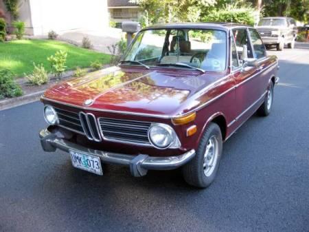 1973 BMW 2002 left front